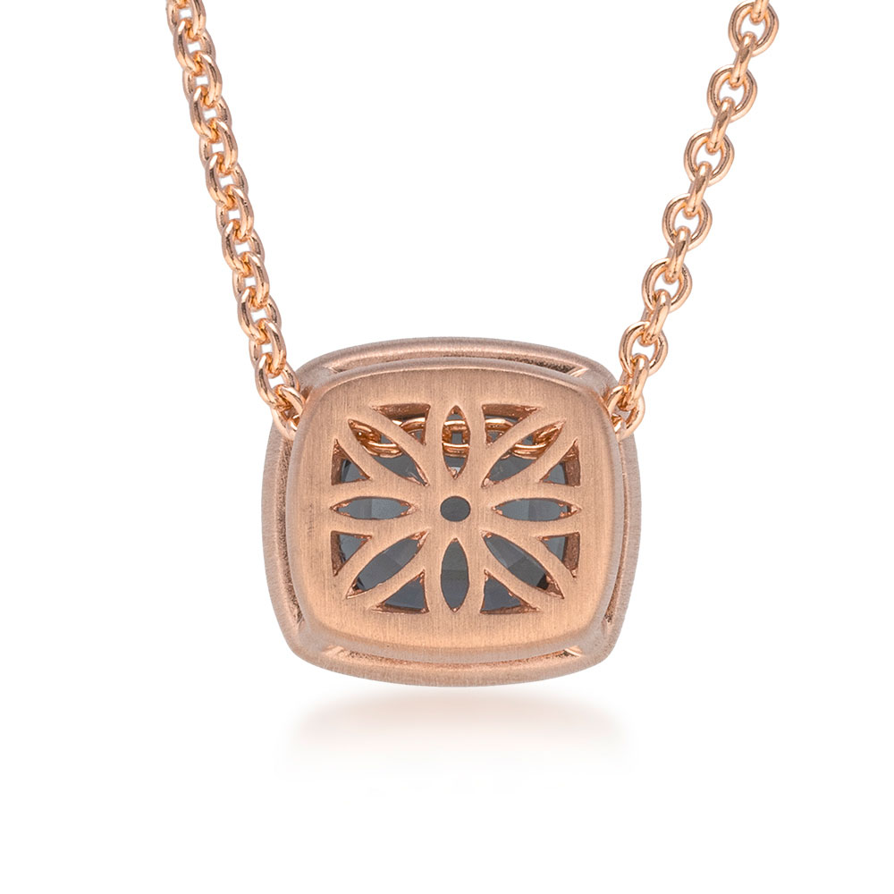 Rose Gold Spinel Pendant